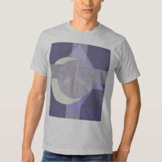Camiseta del amor de la fe de la esperanza remera