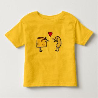 Camiseta del amor de los macarrones con queso
