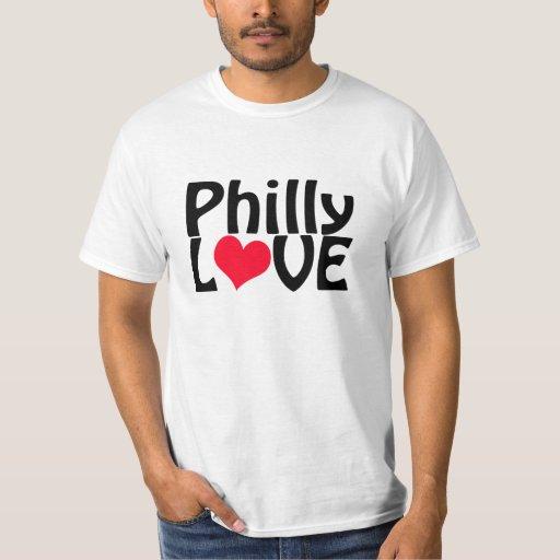 Camiseta del amor de Philly Polera