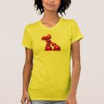 Camiseta del amor del ajedrez