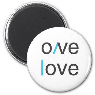 Camiseta del amor del amor del amor del amor iman de frigorífico