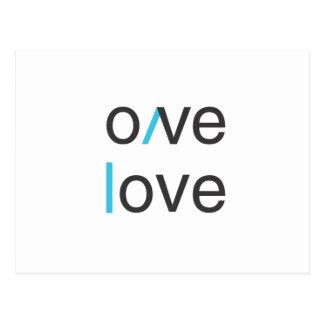 Camiseta del amor del amor del amor del amor postal