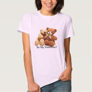 Camiseta del amor del oso de peluche camisas