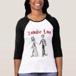 Camiseta del amor del zombi