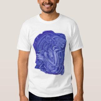 Camiseta del ÁNGEL AZUL Playera