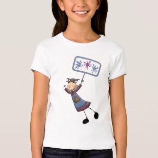 Camiseta del ángel del arte
