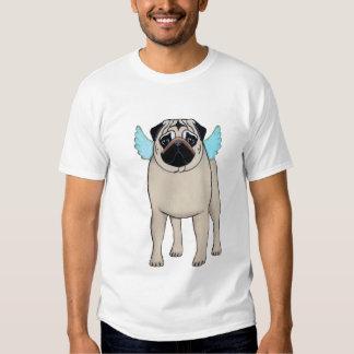 Camiseta del ángel del barro amasado remeras