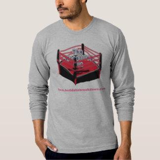 Camiseta del anillo de lucha poleras