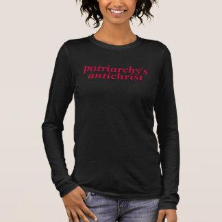 camiseta del antichrist del patriarcado