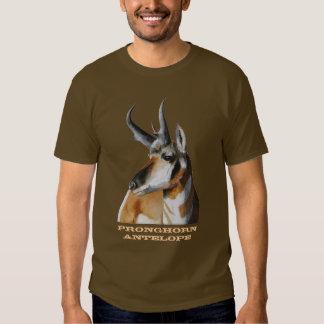 Camiseta del antílope de Pronghorn Playeras