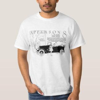 Camiseta del anuncio del coche del vintage