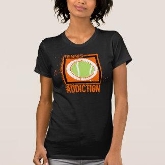 Camiseta del apego del tenis