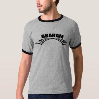 Camiseta del apellido de Graham Remeras