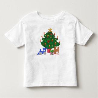 Camiseta del árbol de navidad