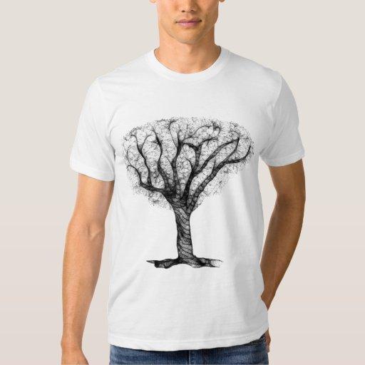 Camiseta del árbol del escritorzuelo camisas