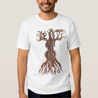Camiseta del árbol del violoncelo playeras