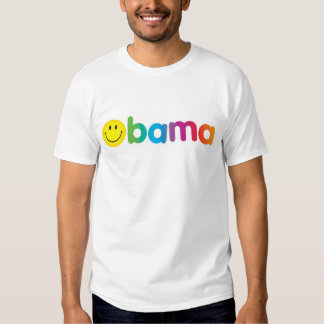 Camiseta del Arco iris-bama Poleras