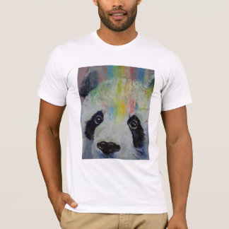 Camiseta del arco iris de la panda