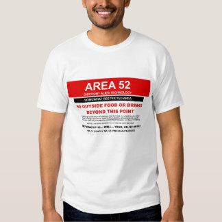 Camiseta del área 52 poleras