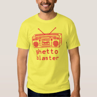 camiseta del arenador 8bit del ghetto remera