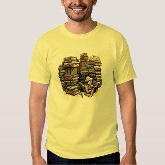 Camiseta del arqueólogo del libro remeras