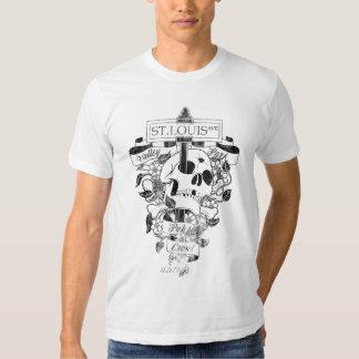 Camiseta del arrastre de Pub del parque del valle Poleras