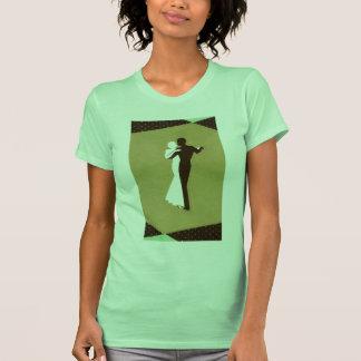 Camiseta del art déco playera