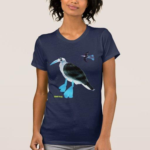 Camiseta del arte: Bobos con base azules
