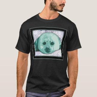 Camiseta del arte de la foca de Groenlandia del