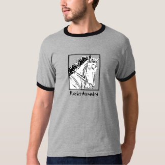 Camiseta del arte del bosquejo de Raquel Alexandra Remeras