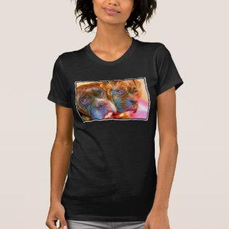 Camiseta del arte del boxeador playeras