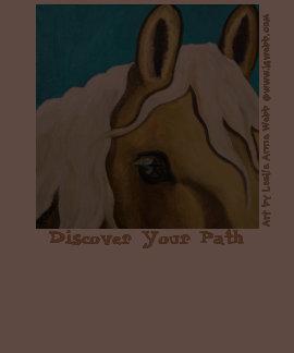 Camiseta del arte del caballo de Leslie Anne Webb