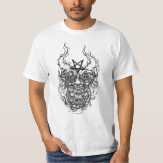 camiseta del arte del demonio playera