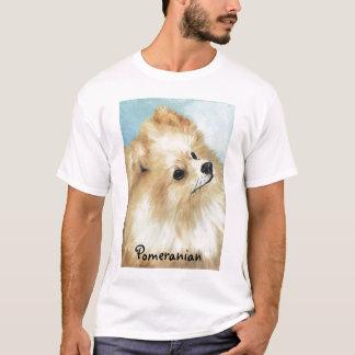 Camiseta del arte del perro del estudio de la
