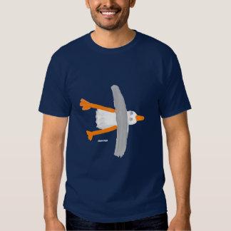 Camiseta del arte: Gaviota clásica Remera