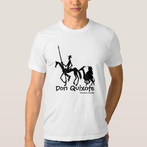 Camiseta del arte gráfico del Don Quijote y de Camisas