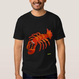 Camiseta del arte: Langosta de Cornualles Playeras