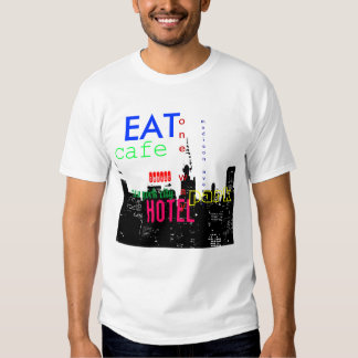 Camiseta del arte pop de New York City Playeras