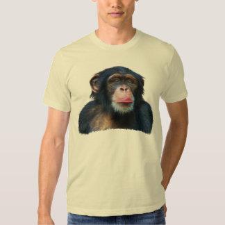 Camiseta del arte y del poema de la fauna del playeras