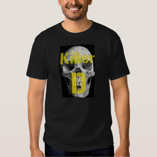 Camiseta del asesino D Playeras