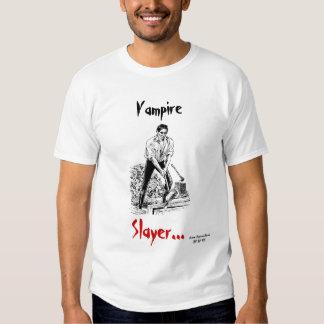 Camiseta del asesino del vampiro remera