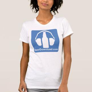 Camiseta del asiduo de las señoras playera