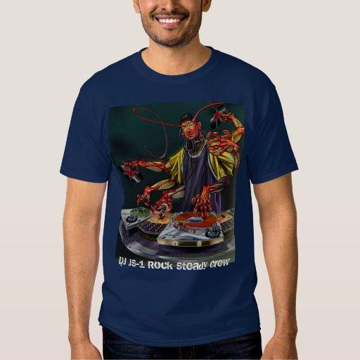 ¡Camiseta del ataque del rasguño del mutante de DJ Camisas