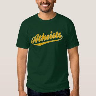 Camiseta del ateo del equipo del estilo del remeras