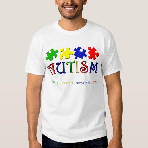 Camiseta del autismo camisas