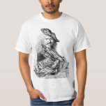 Camiseta del autorretrato de Rembrandt Remera