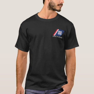 Camiseta del auxiliar del guardacostas