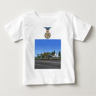 Camiseta del avión de combate del rayo P47 Playera