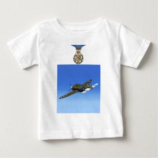 Camiseta del avión de combate del rayo P47 Remeras