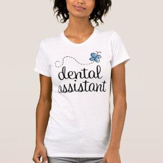 Camiseta del ayudante de dentista de la atención